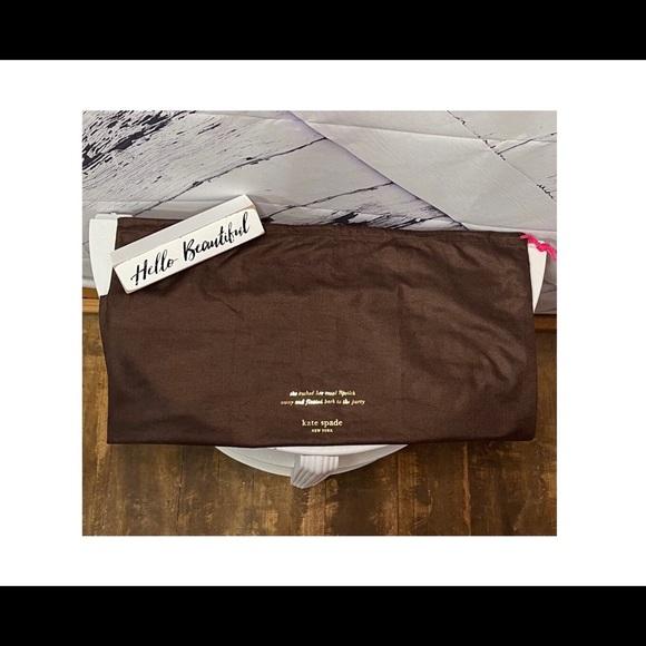 "Kate ♠️ Spade Large Dust Bag 19.5""W x 17.5""H"